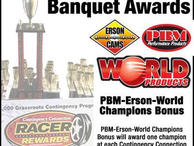 Banquet Bonus: PBM Erson World Products Champion