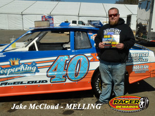 Bristol Motor Speedway Dirt Nationals Melling Winner Jake McCloud