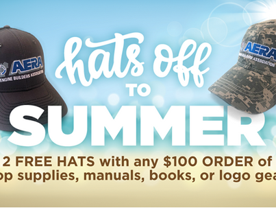 FREE AERA Hats with $100 Order