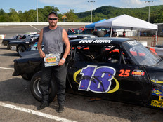 Lonesome Pine Raceway Racer Rewards Winner Doug Austin