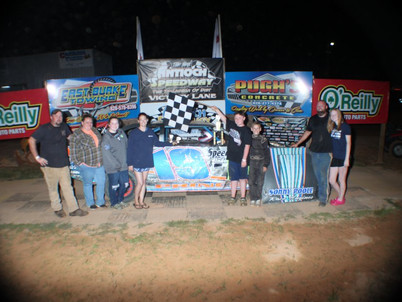 Carswell wins at Antioch Speedway