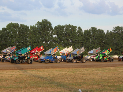 World of Outlaw Sprints return to Wayne County Speedway