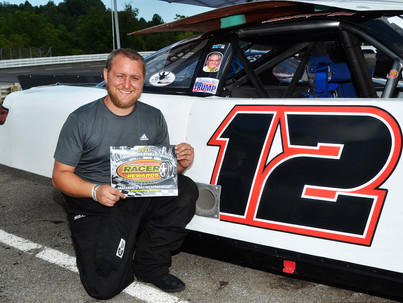 Lonesome Pine Raceway Racer Rewards Winner Jarrod Cooper