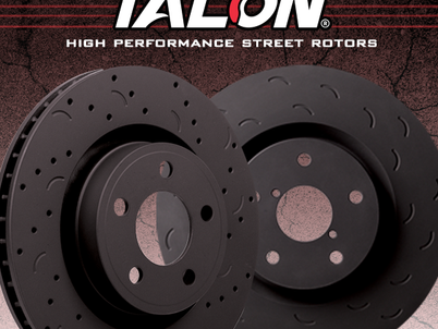 Hawk Performance® introduces new Talon® performance street rotors for full line of cars, trucks, suv