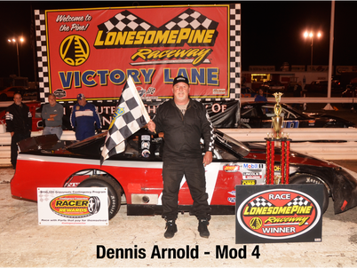 Racer Rewards Winners - Lonesome Pine Raceway