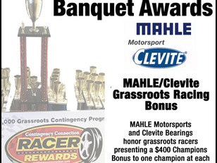 Banquet Bonus: Mahle/Clevite $400 Champions Award