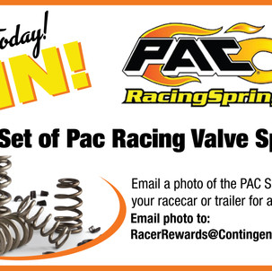 Enter For Chance to Win Pac Racing Valve Springs