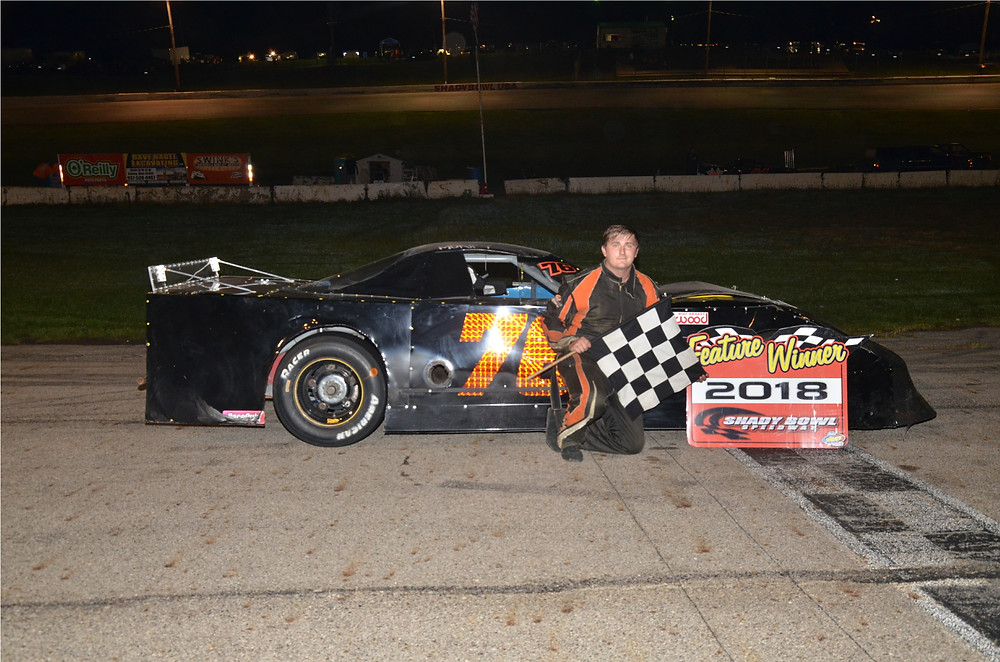 Jacob Muncy of Columbus won the Dave Nagel Excavating late model main.