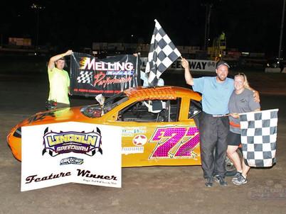 Lincoln Speedway Hornet Winner Driver #77 Erik VanApledoorn