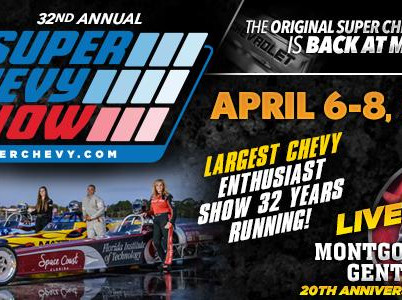 Super Chevy Show is only three weeks away!
