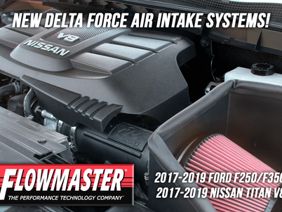 Flowmaster releases new Delta Force air intakes for late model trucks