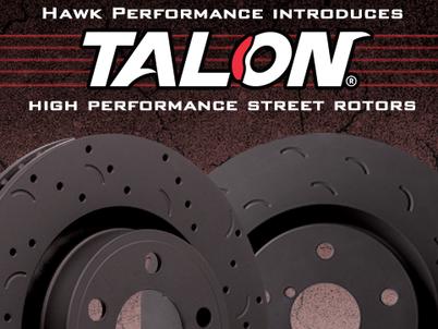 Hawk Performance Talon Street Rotors now available