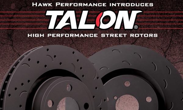 Hawk's new street rotors now for sale.