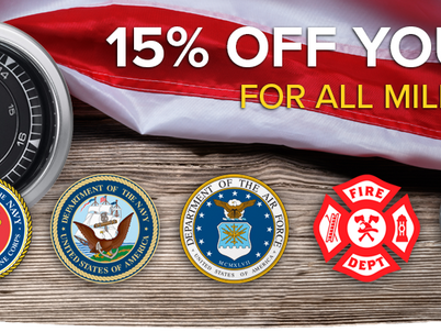 Autometer offers military & first responders discount