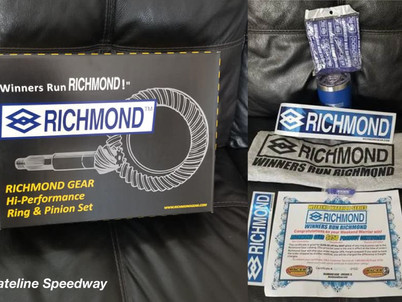 Stateline Speedway awards Richmond Gear package