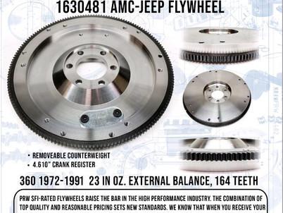 PRW announces new AMC-Jeep Flywheel