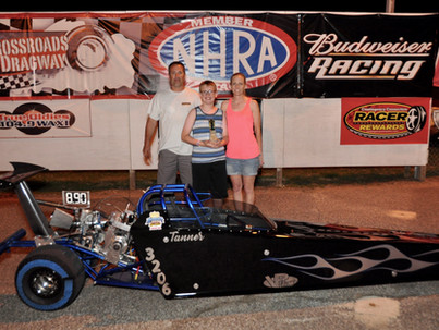 FIRST FAST 33 AT THE 330' RACE HELD AT CROSSROADS DRAGWAY