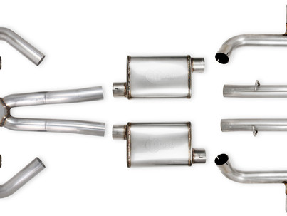 Holley releases Hooker BlackHeart RideTech-Compatible 2nd Gen F-Body LS Swap Exhaust Systems
