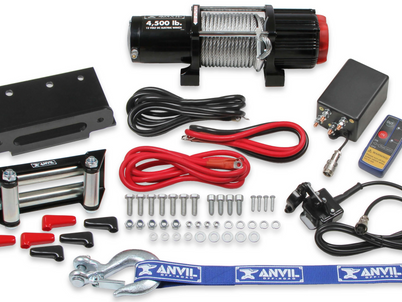 Anvil Off-Road Releases Winches, Service Parts & Accessory Kits