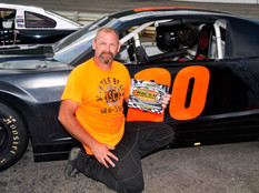 Lonesome Pine Raceway Racer Rewards Winner Chris Coleman