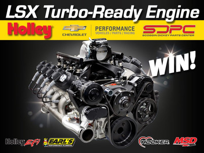 Win a Complete Turbo-Ready LSX Engine Worth More Than $12,000!