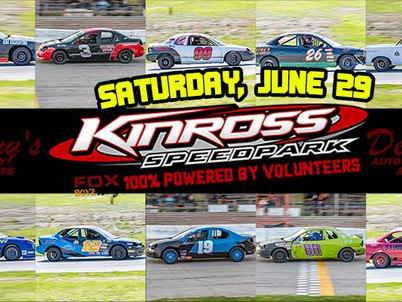 Saturday marks 3rd race for Kinross Speedpark