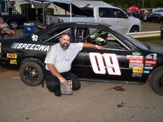Lonesome Pine Raceway Racer Rewards Winner Frank Womack