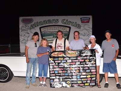 Winners from Cordova International Raceway