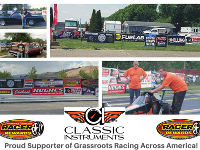 Classic Instruments: Proud Supporter of Grassroots Racing!
