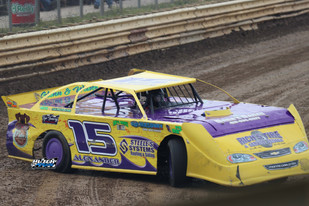 Max Blair Sweeps ULMS Show at Wayne County Speedway