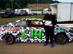 Lonesome Pine Raceway Racer Rewards Winner Herb Campbell