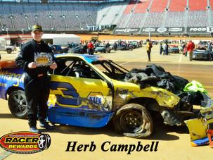 Bristol Motor Speedway Dirt Nationals Racer Rewards Winner Herb Campbell