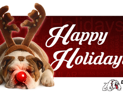 Season's Greetings from the Bully Dog Team