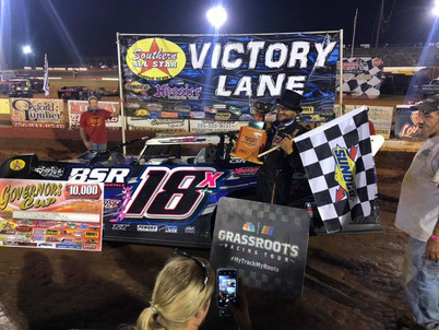 Michael Page becomes 10th Different Winner in Southern All Star Dirt Racing Series