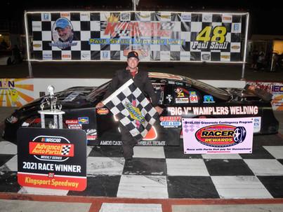 Kingsport Speedway Racer Rewards Winner Kevin Canter