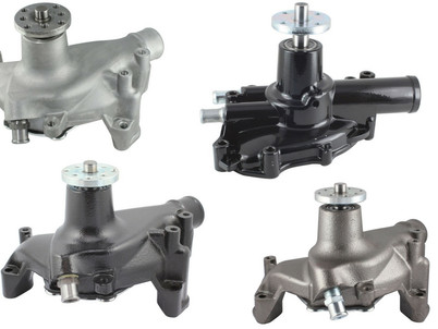 Mr. Gasket Water Pumps Now Available in 3 Different Finishes