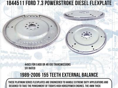 PRW releases new Diesel Flexplate