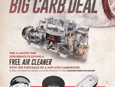 """Edelbrock's """"Big Carb Deal"""" Is Back!"""