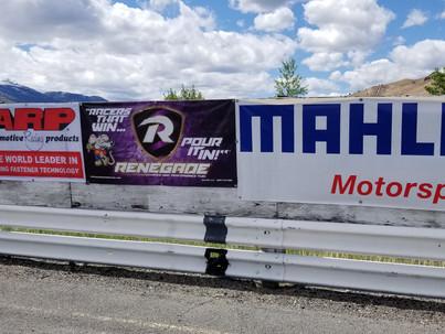 Lost Creek Raceway displays sponsor pride