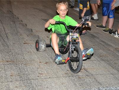 Kids take over Shady Bowl Speedway