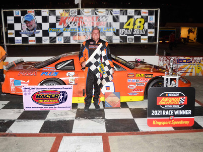 Kingsport Speedway Racer Rewards Winner Joey Trent