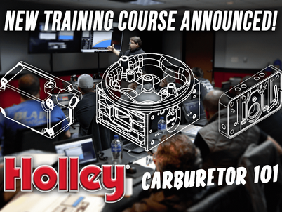 Holley offers carburetor training