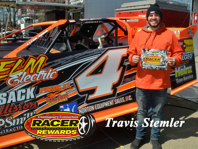 Bristol Motor Speedway Dirt Nationals Racer Rewards Winner Travis Stemler