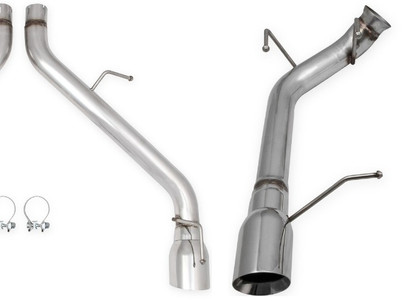 Flowtech Releases Non-Muffled Axle Back Exhaust Kits For Camaro & Mustang