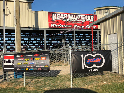Heart O' Texas features Holley, Elgin, Transdapt with Signage