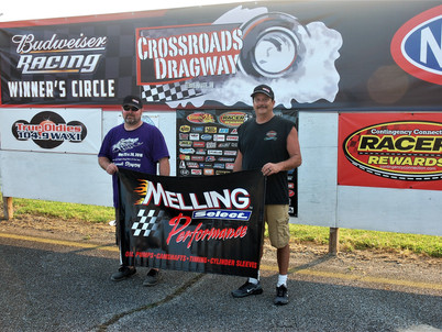 Walker, Smith win Melling awards at Crossroads Dragway