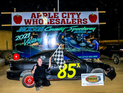 Lucas, Harper Post Wins at Jackson County Speedway