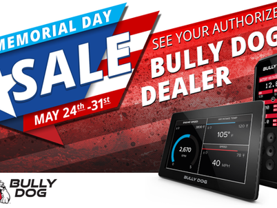 Boost your vehicle with Bully Dog's dealer specials