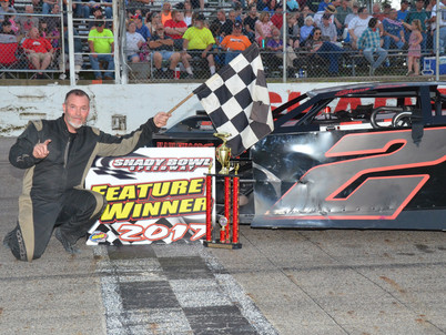 Sage Dominates Stookey Memorial - Shadybowl Speedway Results