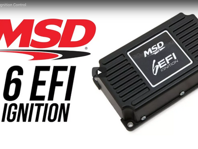 MSD Releases 6EFI Universal Ignition Control Boxes